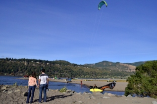 Parasailing Oregon's Columbia River Gorge (11)