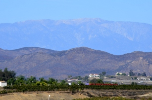 Mountains Behind Temecula