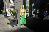 Mermaid on the streets of L.A.!