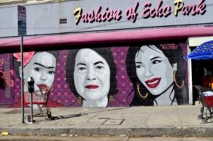 The fabulous activist Dolores Huerta, middle