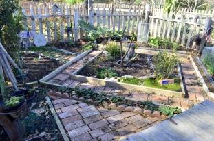 Community garden plot