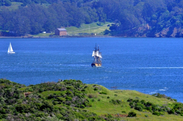 Tall Ship in SF Bay