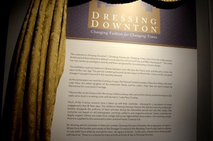 Dressing Downton Exhibit at Muzeo, 1 (1)