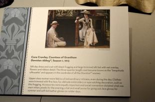 Dressing Downton Exhibit at Muzeo, 1 (5)