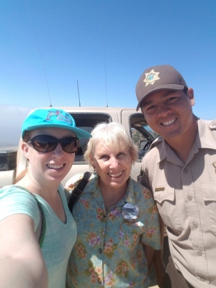 Kat, SueBee, and the wonderful Ranger