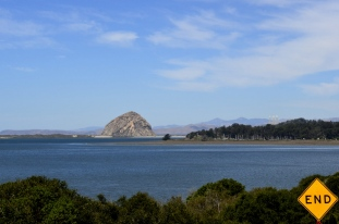 Morro Rock, two sides (1)