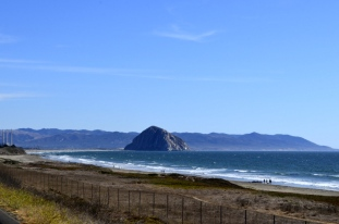 Morro Rock, two sides (2)