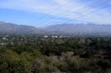 View toward JPL (Jet Propulsion Laboratory) in La Canada Flintridge