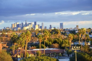 Downtown Los Angeles from the Westside (1)