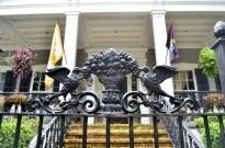 Front gate detail, Garden District