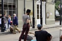 Street musicians, French Quarter