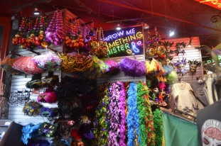 Colorful, ready for Mardi Gras
