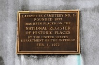 Taste of New Orleans, part 4, La Fayette Cemetery No. 1 (2)