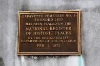 Taste of New Orleans, part 4, La Fayette Cemetery No. 1 (2)