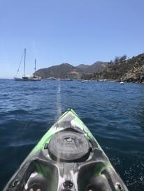 Kayaking off Catalina Island (2)
