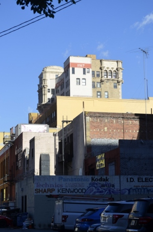 Buildings in downtown L.A.