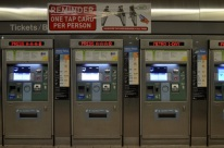 The beloved Tap machine for the subway