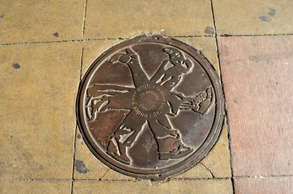 Interesting manhole cover.