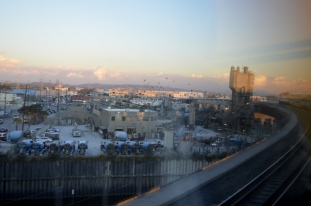 View from the train, heading home.