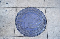 Another interesting manhole cover.