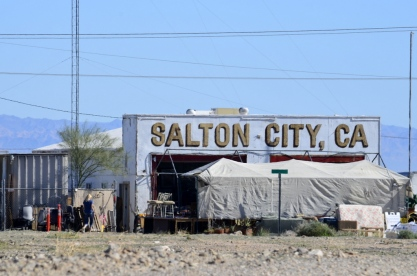 In all its glory, Salton City, California