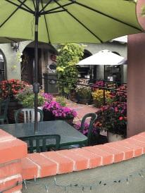 Pretty patio.
