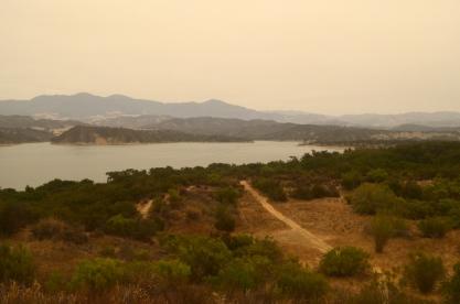 Driving Past Lake Cachuma (1)