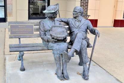 Statue in Great Bend, KS