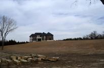 Large, new house at Claflin, KS