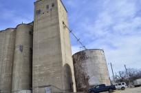 Grain silo, found in every town