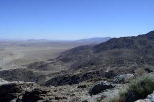 View of the Anza-Borrego valley