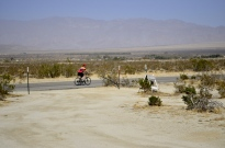Lots of bicyclists in the desert!